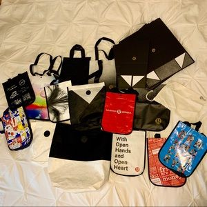 Lululemon gift boxes and bags